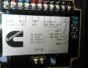 Original Cummins Efc Controller Efc4914090 Speed Controller