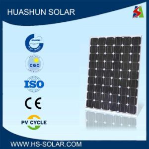 Huashun 130-150W 125X125 Monocrystalline Solar Panel (SH-150S5-18)
