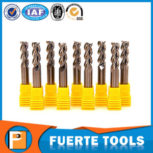 Carbide End Mill for Aluminum with 3 Flutes pictures & photos