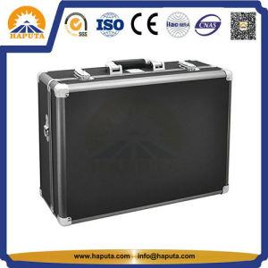 Travel Aluminum Tool Box with Black Strap (HT-3001) pictures & photos