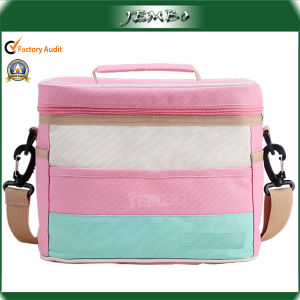 Full Printing Pink Shoulder Tote Insulated Picnic Bag pictures & photos