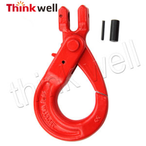 G80 Forged Webbing Sling Hook with Safety Latch pictures & photos