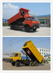 Dongfeng 6X4 Dumper Turck with T-Type Middle Lift pictures & photos