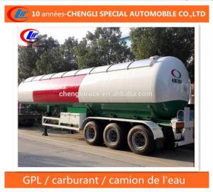 30t LPG Semi Trailer 60cbm LPG Transport Trailer for Nigeria pictures & photos