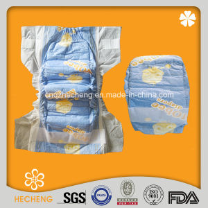 Good Absorption Breathable Disposable Baby Nappy with Magic Tape (NG-MOBEE) pictures & photos