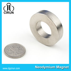 Custom N35 Ring Permanent Magnet for Speaker Elctronics pictures & photos