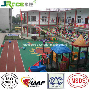 Full Pour EPDM Granule Running Track for Children pictures & photos