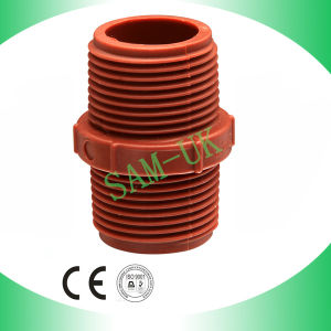 Taizhou Zhuoxin PP Pipe Fittings Nipple pictures & photos