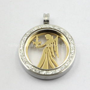Fashion 316L Stainless Steel Coin Pendant Jewelry for Women pictures & photos