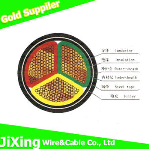 0.6/1k V Cu/XLPE/PVC Power Armoured Electrical Cable pictures & photos