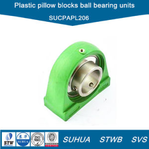 Thermoplastic Pillow Blocks Units with Stainless Steel Insert Bearing (SUCPAPL206) pictures & photos