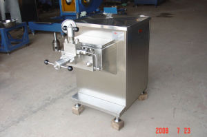 Small Scale 200L/H Milk Homogenizer Machine pictures & photos