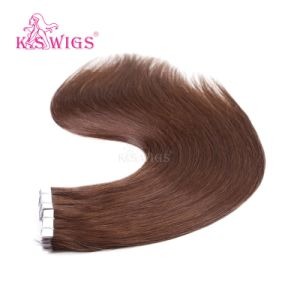 K. S Wigs Virgin Remy European Human Hair Tape Hair Extension pictures & photos