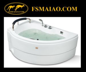 Good Design Special-Shape Jacuzzi Acrylic Bathtub (MG-406) pictures & photos