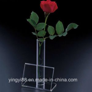 Custom Acrylic Flower Vase Stand with SGS Certificates pictures & photos