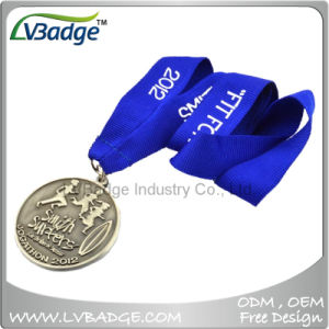 Souvenir Gift Custom Marathon Running Sport Award Metal Medal pictures & photos