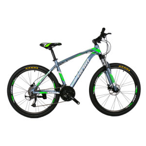27 Speed Aluminum Alloy Mountain Bicycle with Shimano Derailleur Hydraulic Disc Brake pictures & photos