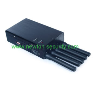 5 Antennas Handheld WiFi GPS Cell Phone Jammer, 5-Band Portable WiFi Bluetooth Wireless Video Cell Phone Jammer pictures & photos