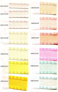 Polyester Satin Ribbon Single Face Printed Chiffon Ribbon for Clothing/Garment/Shoes/Bag/Case pictures & photos