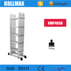 5.8m Folding Aluminium Ladder for Many Usages pictures & photos
