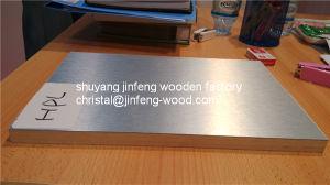 1220*2440mm Wood Grain Melamine Blockboard pictures & photos