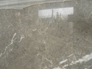 Cyprus Grey Marble Slab for Countertops and Building Materials