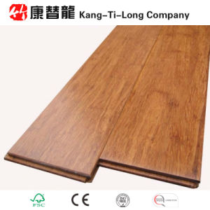 Carbonized Solid Strand Woven Bamboo Floor