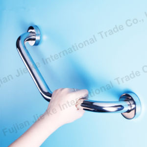 High Quality Stainless Steel Safety Grab Bars with Soap Basket (L68-1) pictures & photos
