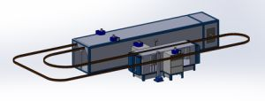 Automatic Powder Coating Line Without Retreatment pictures & photos