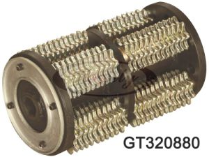 "12.5"" Cutter-Drum Assy. with Tungsten Carbide Standard Cutters Gt320880"