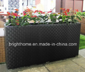 Outdoor Rattan Garden Flower Plant Pot pictures & photos