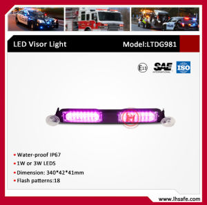 LED Warning Visor Light (LTDG-981) pictures & photos