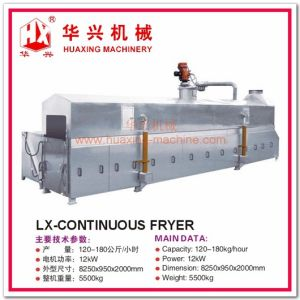 Lx-Continuous Fryer Continuous Frying Machine (Frying Snack, Peanuts, Beans) pictures & photos