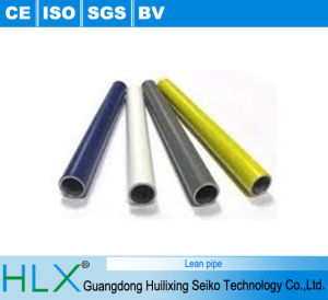 Plastic Coated PE Pipe for Working Table pictures & photos