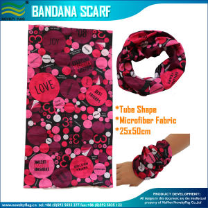 Promotional Custom Printing Polyester Tube Style Snowboard Bandana Scarves pictures & photos