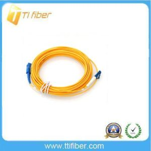 LC-Sc Singemode Simplex Fiber Patchcord 3m pictures & photos