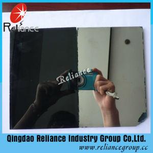 4-10mm Dark Grey Reflective Glass / Dark Grey One Way Glass / Grey Tinted Glass / Dark Grey One Way Glass pictures & photos