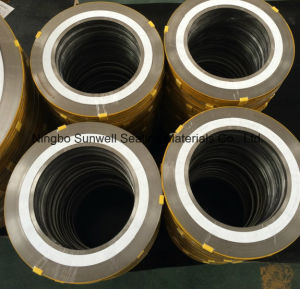 PTFE Spiral Wound Gaskets, Sealing Gaskets (SUNWELL) pictures & photos