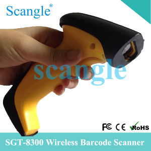 Handheld Wireless Laser Barcode Reader pictures & photos
