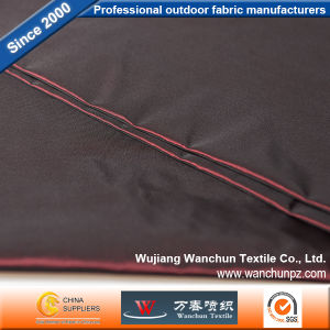 Polyester Memory Plain Colored Woven Fabric for Garment pictures & photos