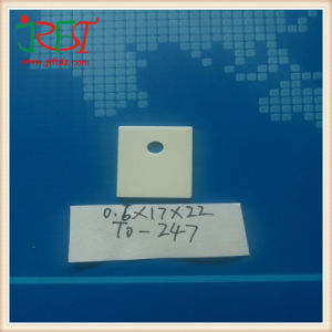 to-247 Thermal Alumina Ceramic Substrate with Hole pictures & photos