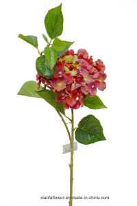 Artificial/Plastic/Silk Flower Single Stem of Hydrangea (27H8004) pictures & photos