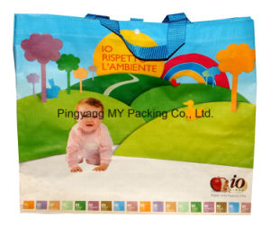 Heavy Duty Packing Recycled BOPP PP Woven Laminated Promotion Bag for Shopping pictures & photos