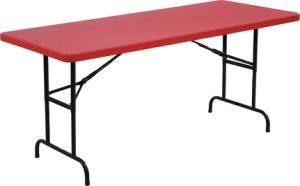 6FT Height Adjustable Folding Table (YCZ-183A) pictures & photos