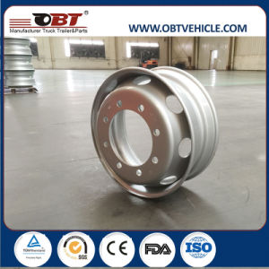 19.5*6.0 19.5*6.75 19.5*7.5 19.5*8.25 Steel Material Truck Wheels Rim with Approval pictures & photos