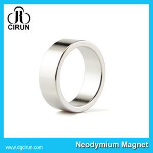 Customized Super Strong Neodymium Rare Earth Ring Magnet pictures & photos