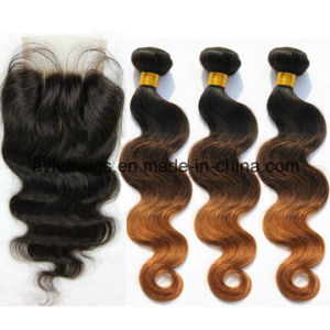 Body Wave 100% Virgin Hair Ombre Natural Virgin Hair Extension pictures & photos