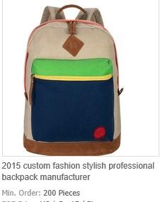Custom Fashion Stylish Professional Backpack