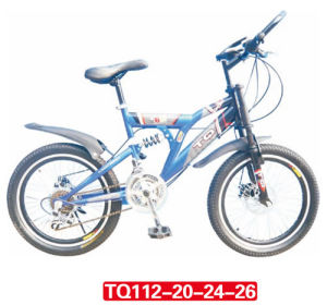 "Mountain Bicycle with Suspension Fork 20"" pictures & photos"