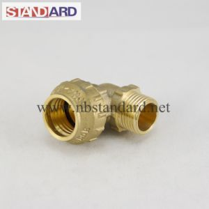 Male Elbow Brass PE Fitting pictures & photos
